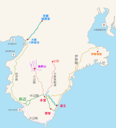 【徹底解説】熊野古道1,000kmの全ルート|概要・魅力・歩き方・注意